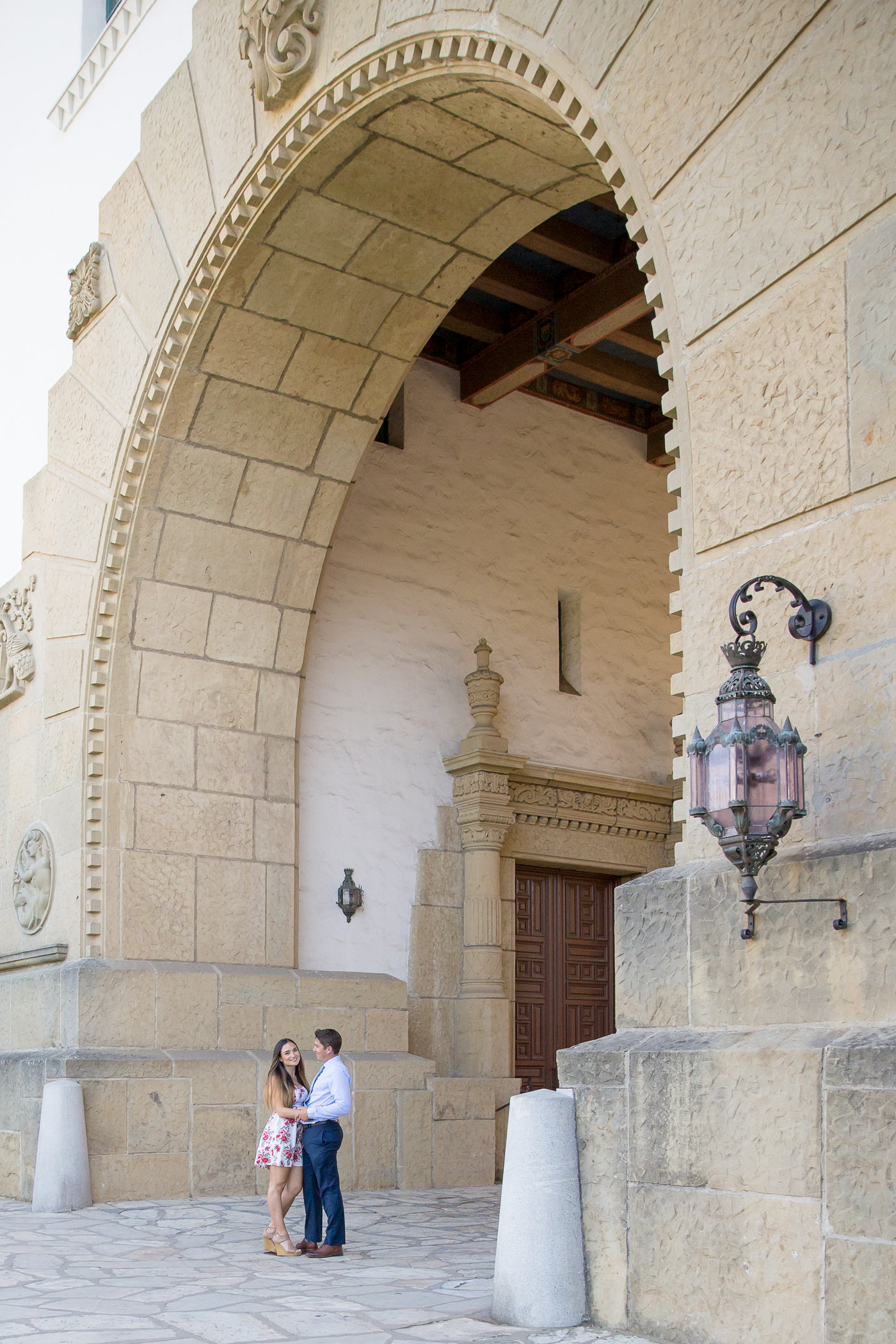 Santa Barbara Courthouse Elopement and Wedding Photographer Fine Heart Photography