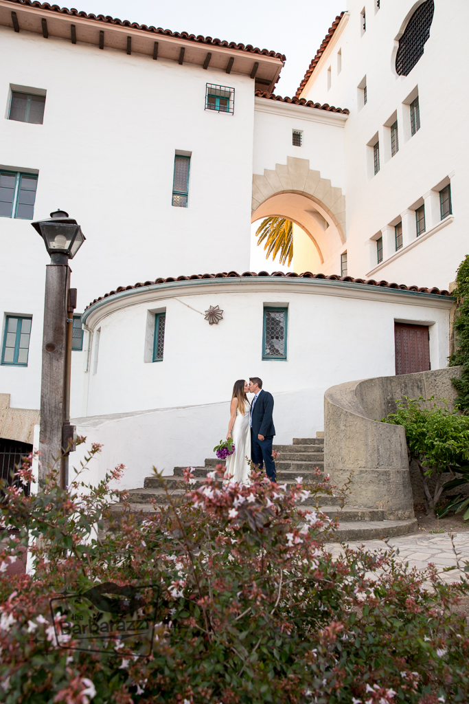 Santa Barbara Courthouse Weddings Fine Heart Photography