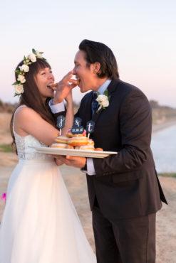 Elope Santa Barbara Fine Heart Photography Cake Donuts