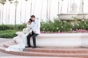 santa barbara wedding photographer fine heart photography fess parker doubletree wedding