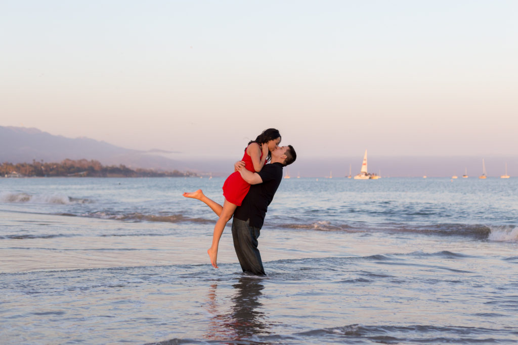 Santa Barbara beach Elopements Engagements Weddings Fine Heart Photography