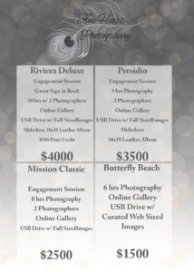 santa barbara wedding photography prices fine heart photography