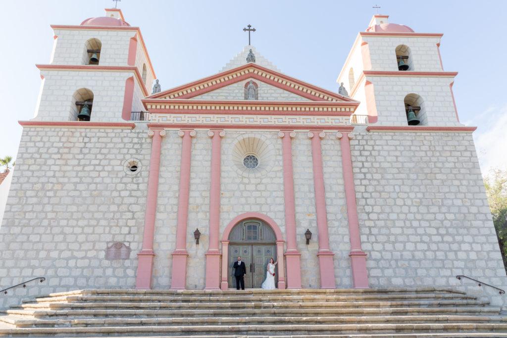 Wedding Photographer Santa Barbara Mission Elope Fine Heart Photography