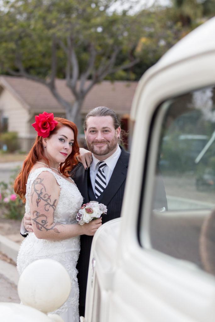 Santa Barbara Pinup Wedding Photographer Fine Heart Photography
