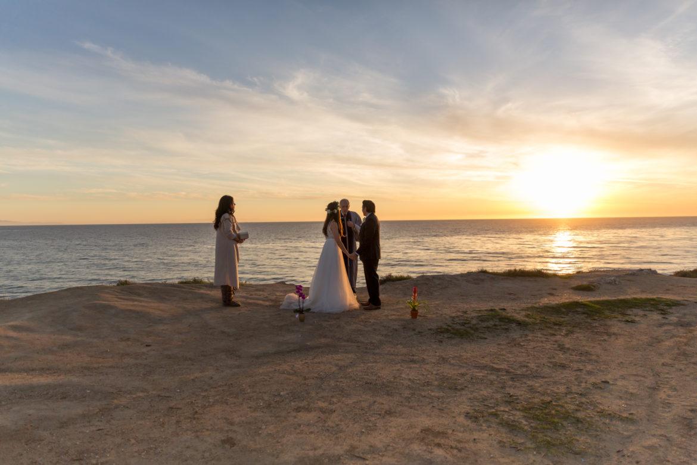 wedding photographer ellwood goleta fine heart photography santa barbara beach elope santa barbara photographer wedding bluffs view ocean