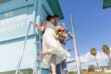 beach wedding locations santa barbara photographer fine heart photography elope elopement
