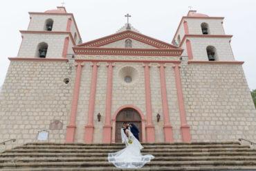 photographer santa barbara elope mission elopement